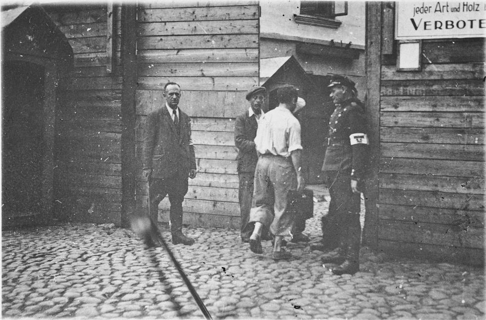 Ingresso al ghetto di Vilnius